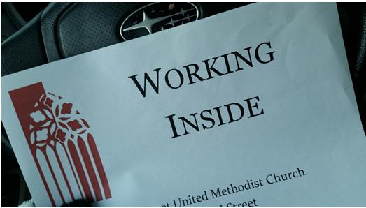 454 working inside